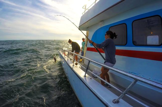 fishing tour in Abu Dhabi
